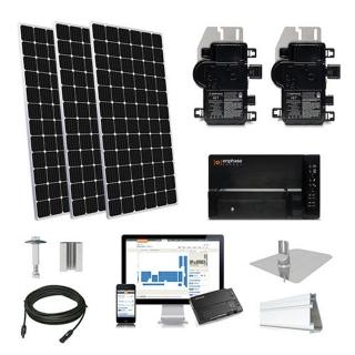 8.2kW solar kit Mission 375 XL, Enphase Micro-inverter