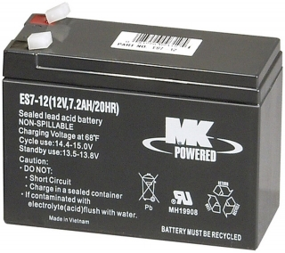 86 watt MK Deka AGM Battery ES7-12