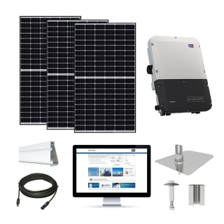 8kW solar kit Canadian 320, SMA inverter