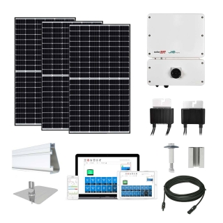 8kW solar kit Canadian 320, SolarEdge HD inverter