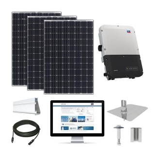 9.5kW Solar Kit Panasonic 330, SMA Inverter
