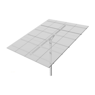 Top-of-Pole Mount for 12 Type-G Modules