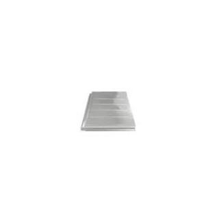 UniRac QuickMount Tile Replacement Flashing, Black Flat Tile