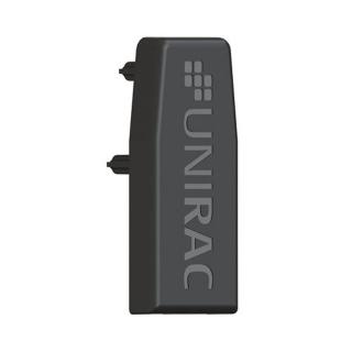 UniRac Solarmount End Cap for Light rail, UV Black Finish