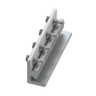 UniRac SolarMount Splice-Bar with Integrated Bonding, Mill Finish