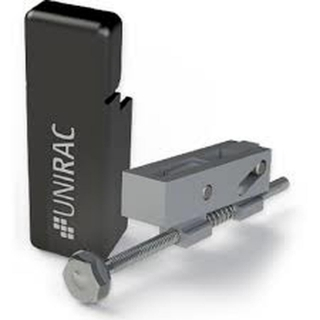 UniRac Universal End Clamp with Rail End Cap