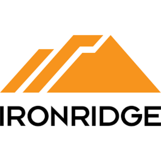 IronRidge: IronRidge, Slotted L-Foot, hardware not included, Black, UFO series, Qty. 1, LFT-03-B1