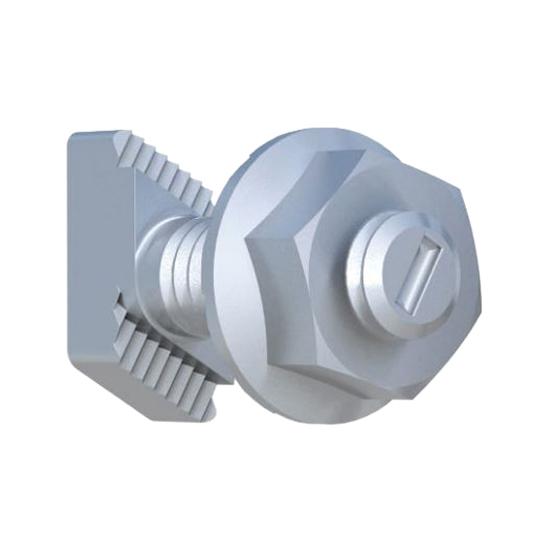 IronRidge 1/4 X 3/4 T-Bolt Microinverter Bonding Hardware Kit Single