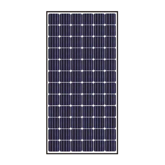 S-Energy America 40 mm 360 Watt SN-Series 72-Cell Mono-Crystalline PV Module with Black Frame