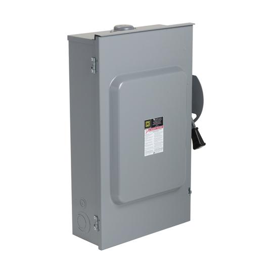 Schneider Electric Square D(TM) 200 Amp 240V 3P RT Safety Switch
