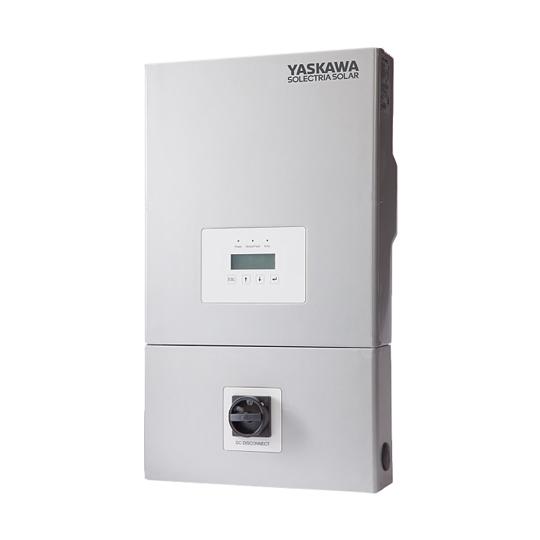 Yaskawa Solectria Solar 600VDC 208/240VAC 1-PH Transformerless String Inverter