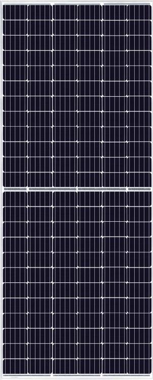 Canadian Solar KuMax 375W 144 Cell Mono 1500V SLV/WHT Solar Panel, CS3U-375MS