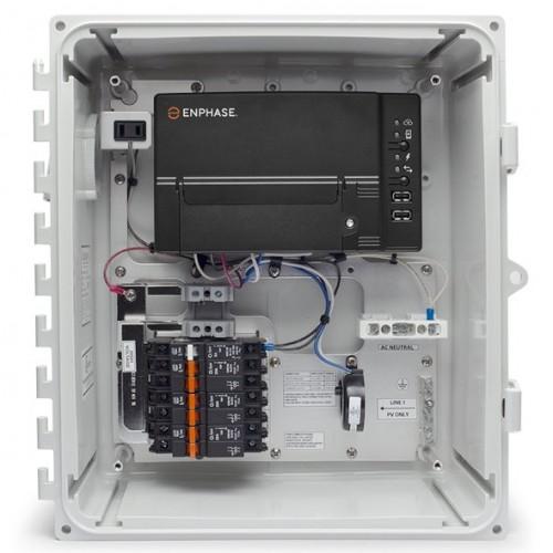 Enphase IQ Combiner+ w/ IQ Envoy (Breakers not included) X-IQ-AM1-240-2