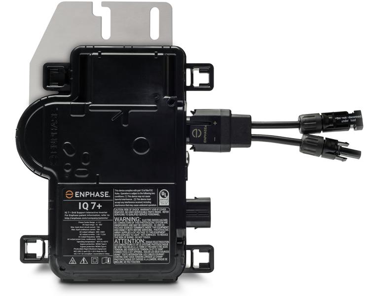 Enphase IQ7+ 295W 240VAC/208VAC Microinverter w/ MC4 Connectors IQ7PLUS-72-2-US