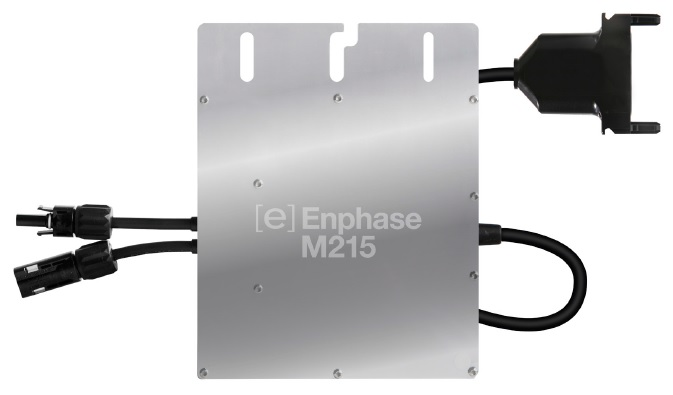 Enphase M215 Microinverter Tyco 240 / 208 VAC M215-60-2LL-IG