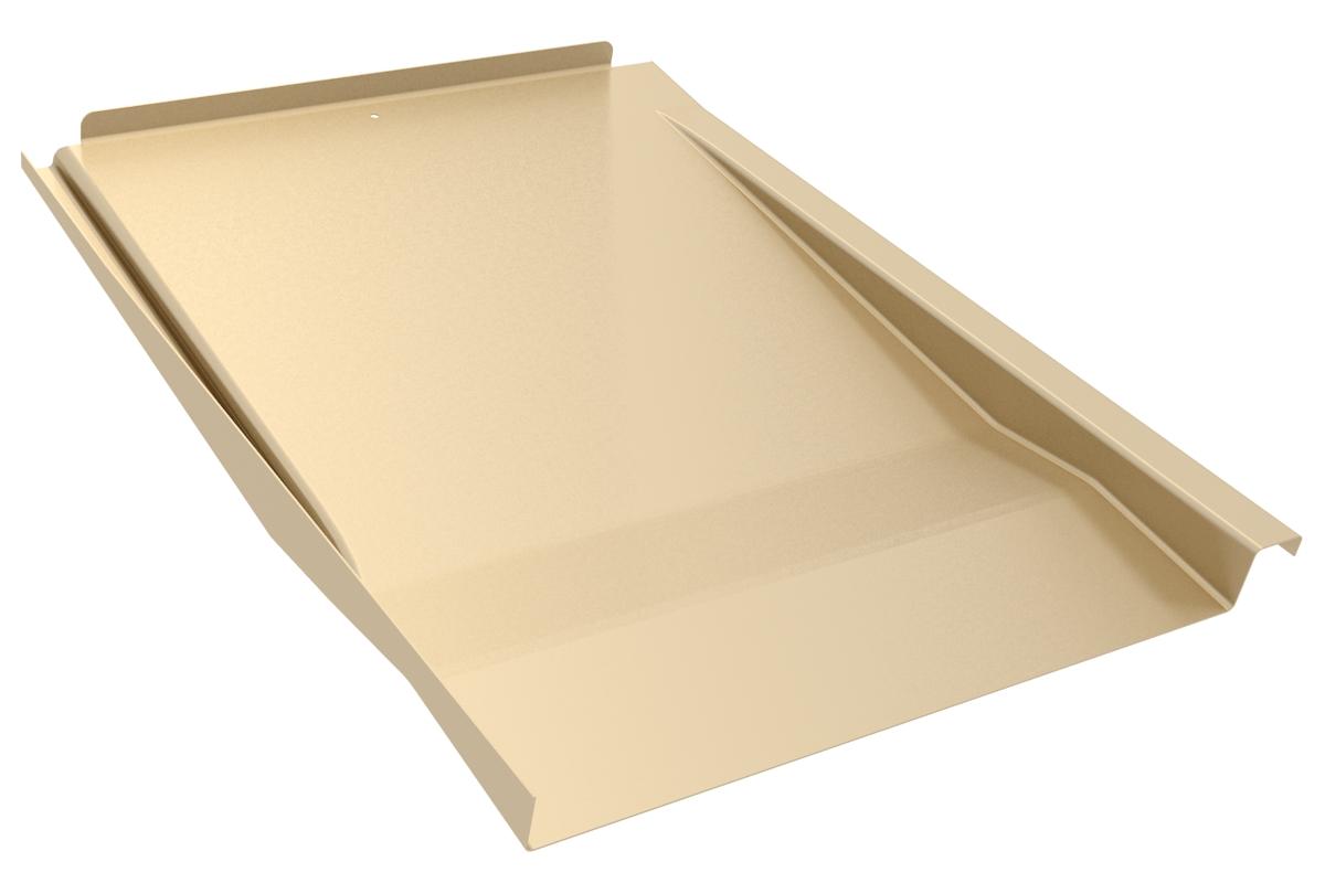 IronRidge KOF-F01-T1 Tile Replacement Flashing, Flat, Tan, Qty 1