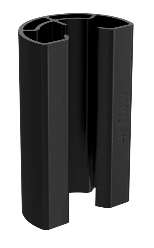 IronRidge UFO-STP-32MM-B1 Stopper Sleeve, 32MM, Black, Qty 1