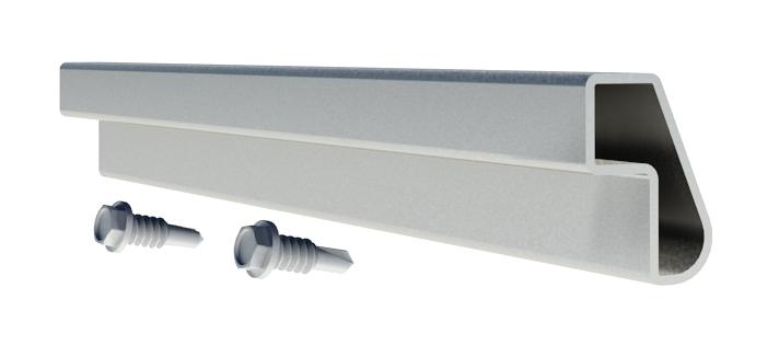 IronRidge XR-10-SPLC Mill Finish Splice Kit 1pc