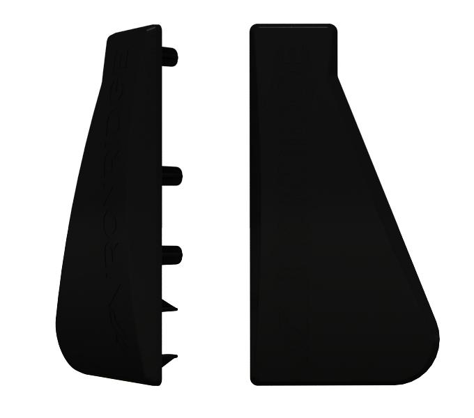 IronRidge XR-1000-CAP XR1000 End Caps, Qty 10 (Qty 20 total)