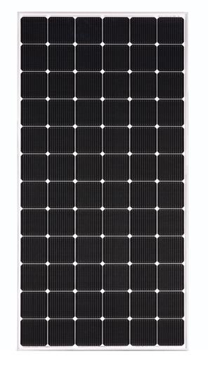 LG NeON 2 400W 72 Cell Mono 1500V SLV/WHT Solar Panel, LG400N2W-A5