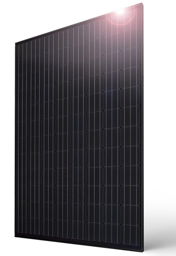 Panasonic 330W HIT Black Series 96 Cell BLK/BLK Solar Panel, VBH330RA03K