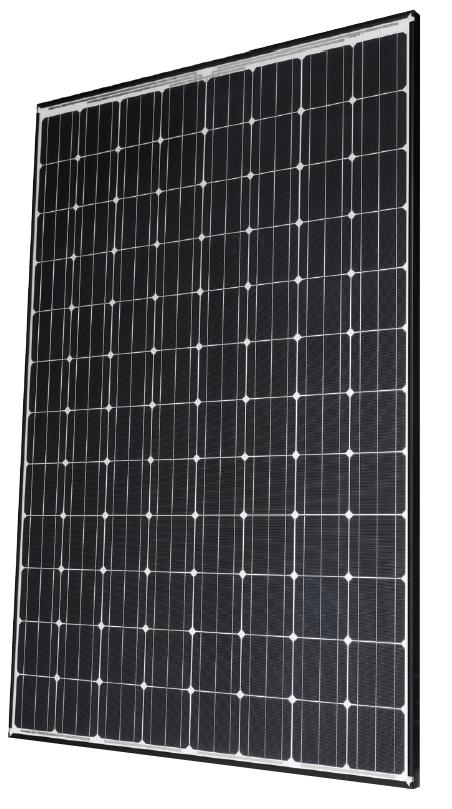Panasonic 330W HIT Series 96 Cell BLK/WHT Solar Panel, VBH330RA18N