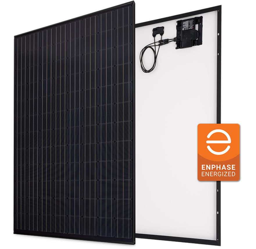 Panasonic HIT 330W Black AC Series 96 Cell BLK/BLK Solar Panel, VBHN330KA03E