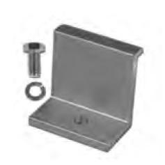 ProSolar C1358EC 1.3 inch Clear End Clamp 1 pc
