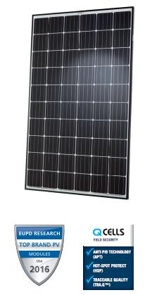 Q CELLS Q.Peak G4.1 300W BLK/WHT Solar Panel