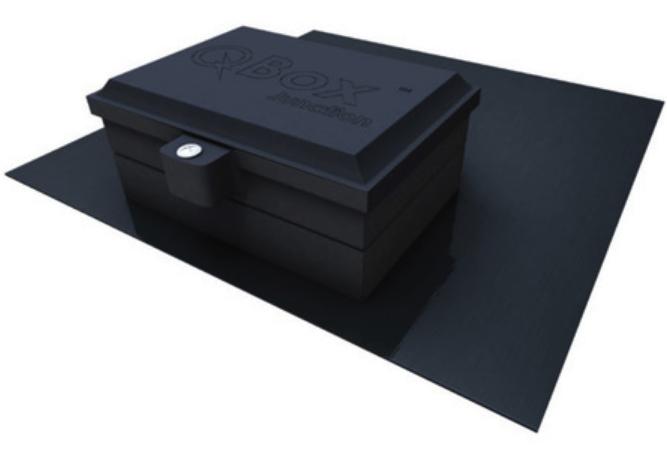 Quick Mount QBox Junction Box, Bronze, QMQB-J1 B, Qty 1