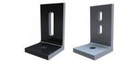 Quick Mount QRail Single Slot L-foot, Black, QMC-LF B, Qty 1