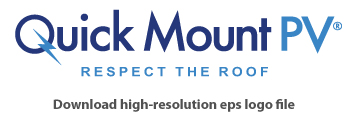 Quick Mount Quick Rack Skirt End Cap, Bronze, QMQR-SC B, Qty 1 Pair
