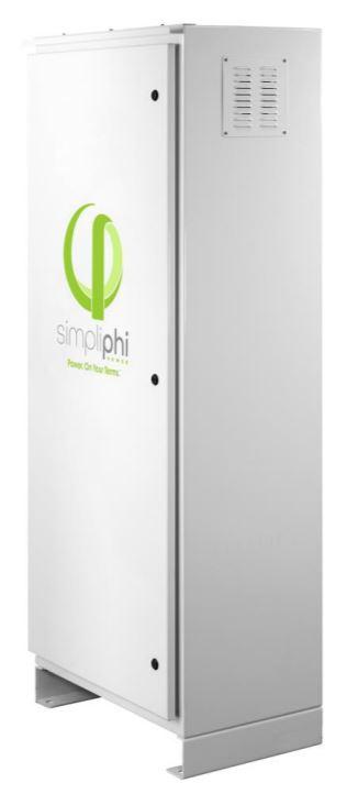 SimpliPhi AccESS w/ 3 x PHI 3.8 kWh Batteries & CC - PRO INV A-3PHI-CC-SCH-PRO