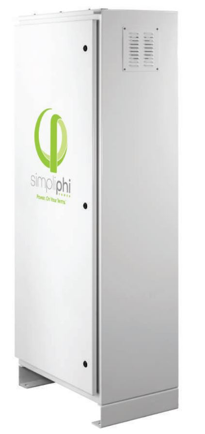 SimpliPhi AccESS w/4 x PHI 3.8 kWh Batteries, 8kW Inverter w/ CC, A-2PHI-CC-SCH