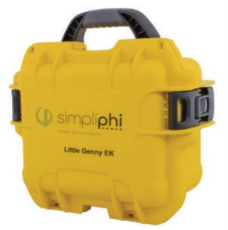 SimpliPhi Little Genny 287 Wh 12V Emergency Kit LG-287-12-EK