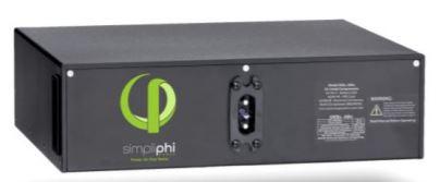 SimpliPhi PHI 2.9kWh 48V LFP Low Profile Battery, PHI-2.9-48-60-LP