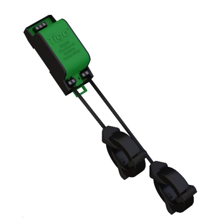 Tigo Energy 300A Commercial Dual Core RSS Din Rail Transmitter Kit, 493-00000-20