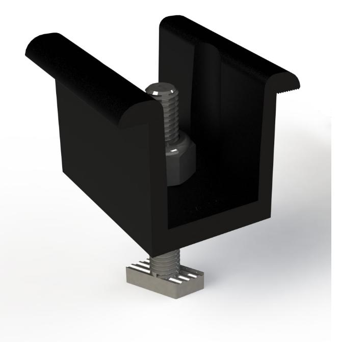 Unirac SFM Infinity Bonding Clamp, N/S, 008000U, Qty 1