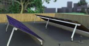 Unirac Solarmount 307134M Adjustable Tilt Leg Kit w/o L-Foot, 40-72