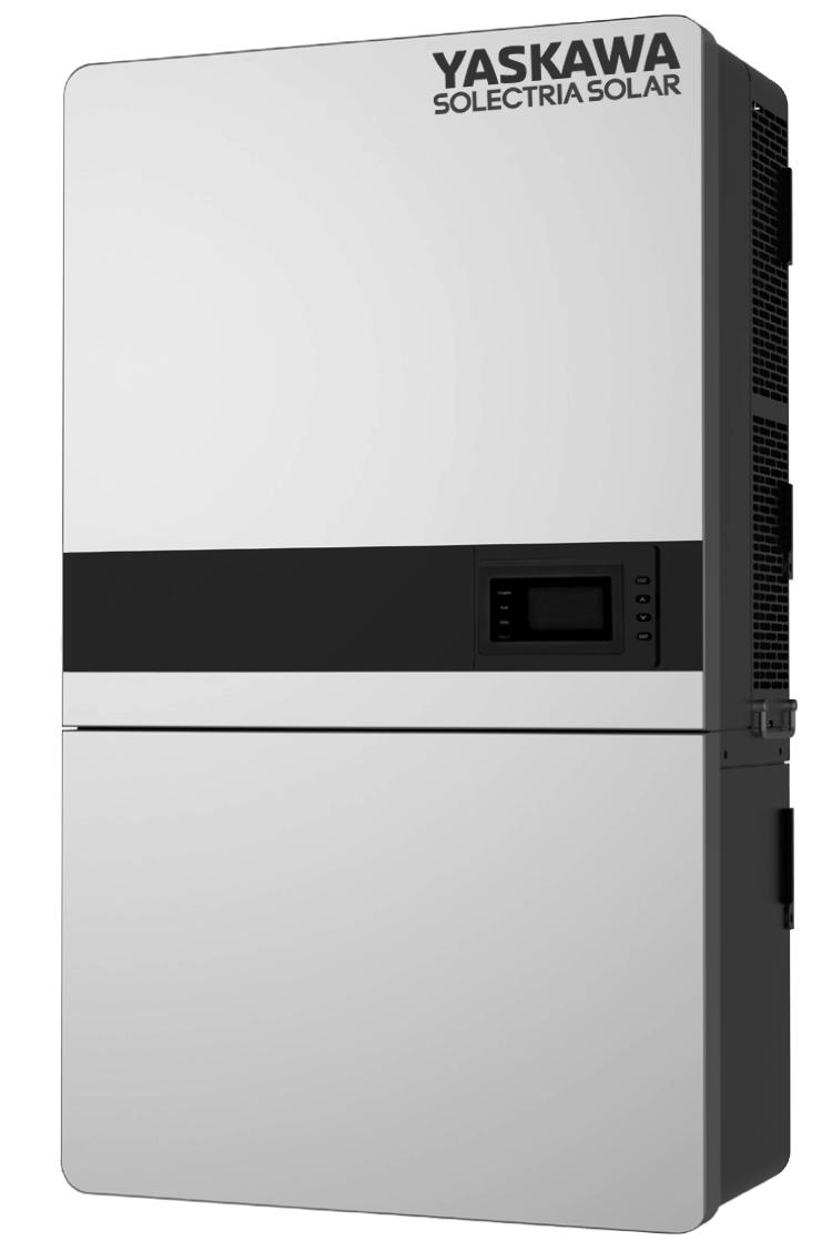 Yaskawa-Solectria PVI 50kW 480VAC TL Inverter w/o Wiring Box PVI-50TL-480