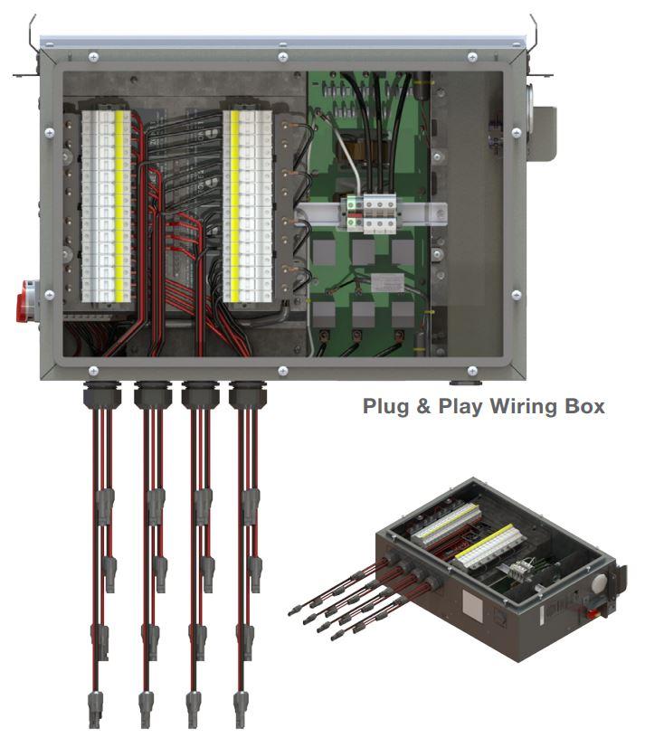 Yaskawa-Solectria Solar Wiring Box for PVI 50TL/60TL Inverters
