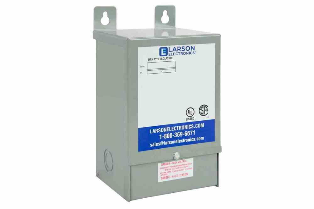 0.15 kVA 1PH Isolation Transformer, 120V Primary, 277V Secondary, 60Hz, NEMA 3R, Encapsulated