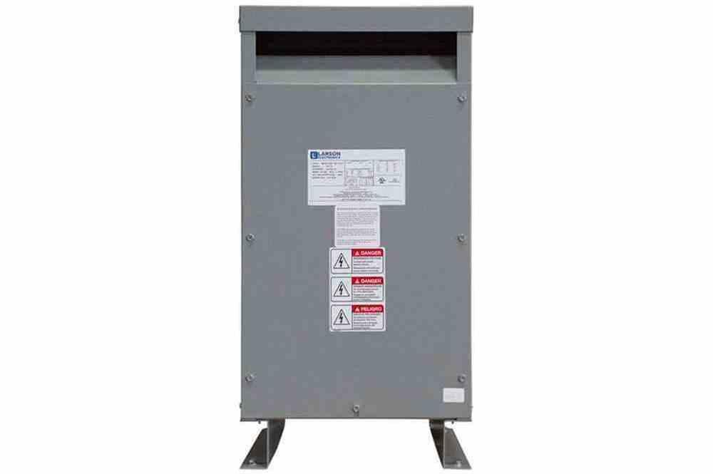 110 kVA 1PH DOE Efficiency Transformer, 240V Primary, 120V Secondary, NEMA 3R, Ventilated, 60 Hz