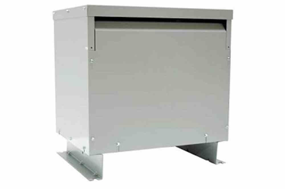 125 kVA 3PH DOE Transformer, 480V Delta Primary, 220V Delta w/ 110V Center Tap Secondary, N3R, Ventilated, 60 Hz