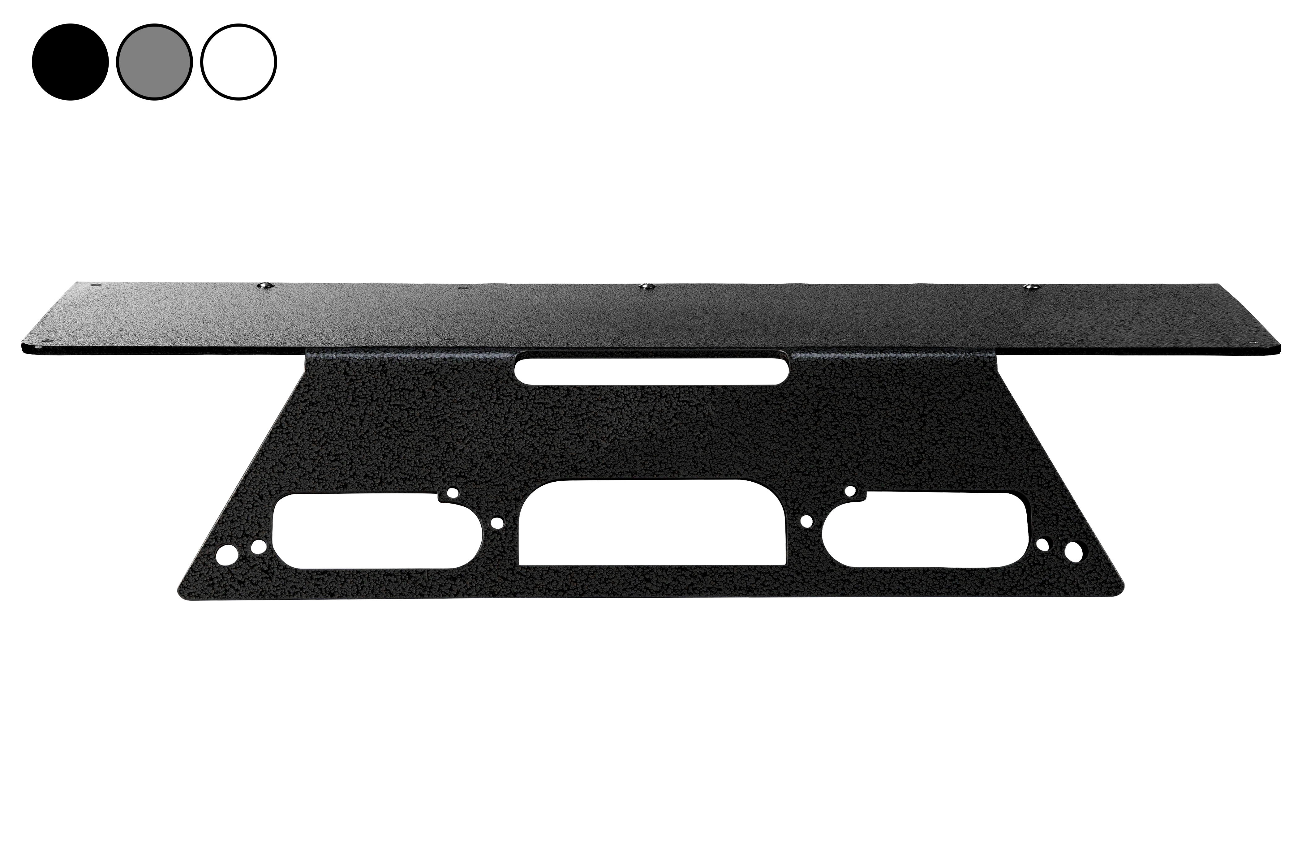 2019 Ford Superduty F350 Truck LED Permanent No Drill Mounting Plate for Spotlights