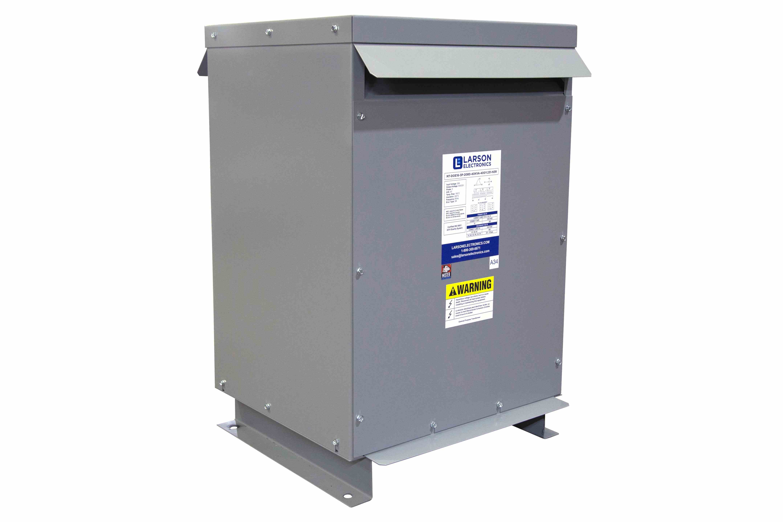 40 kVA 3PH DOE Transformer, 208V Delta Primary, 400Y/231 Wye-N Secondary, N3R, Ventilated, 60 Hz