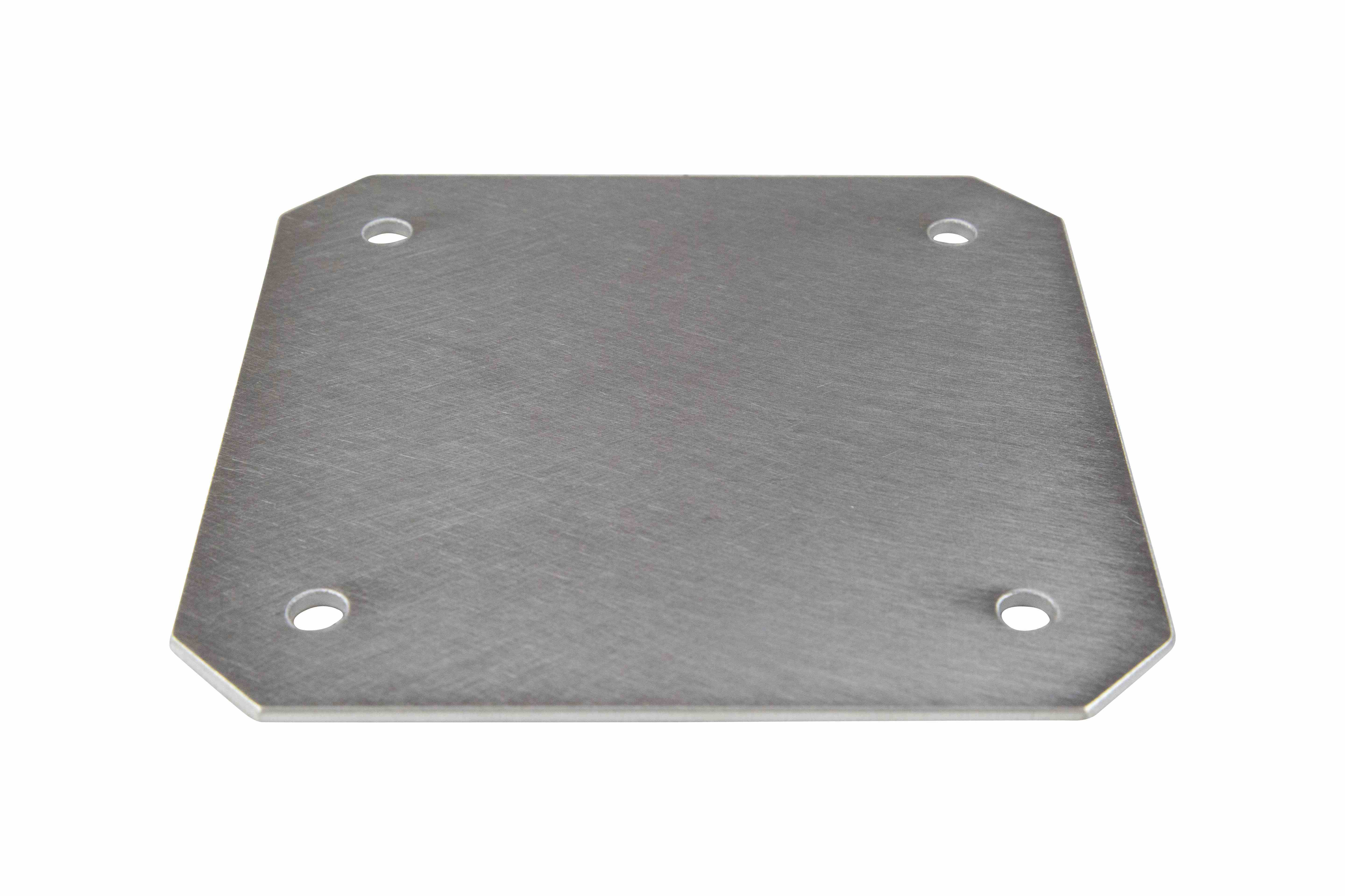Aluminum Back Plate for EPL-AEB-14.14 Series Explosion Proof Enclosure, Internal Bolt-In Mounting Pan