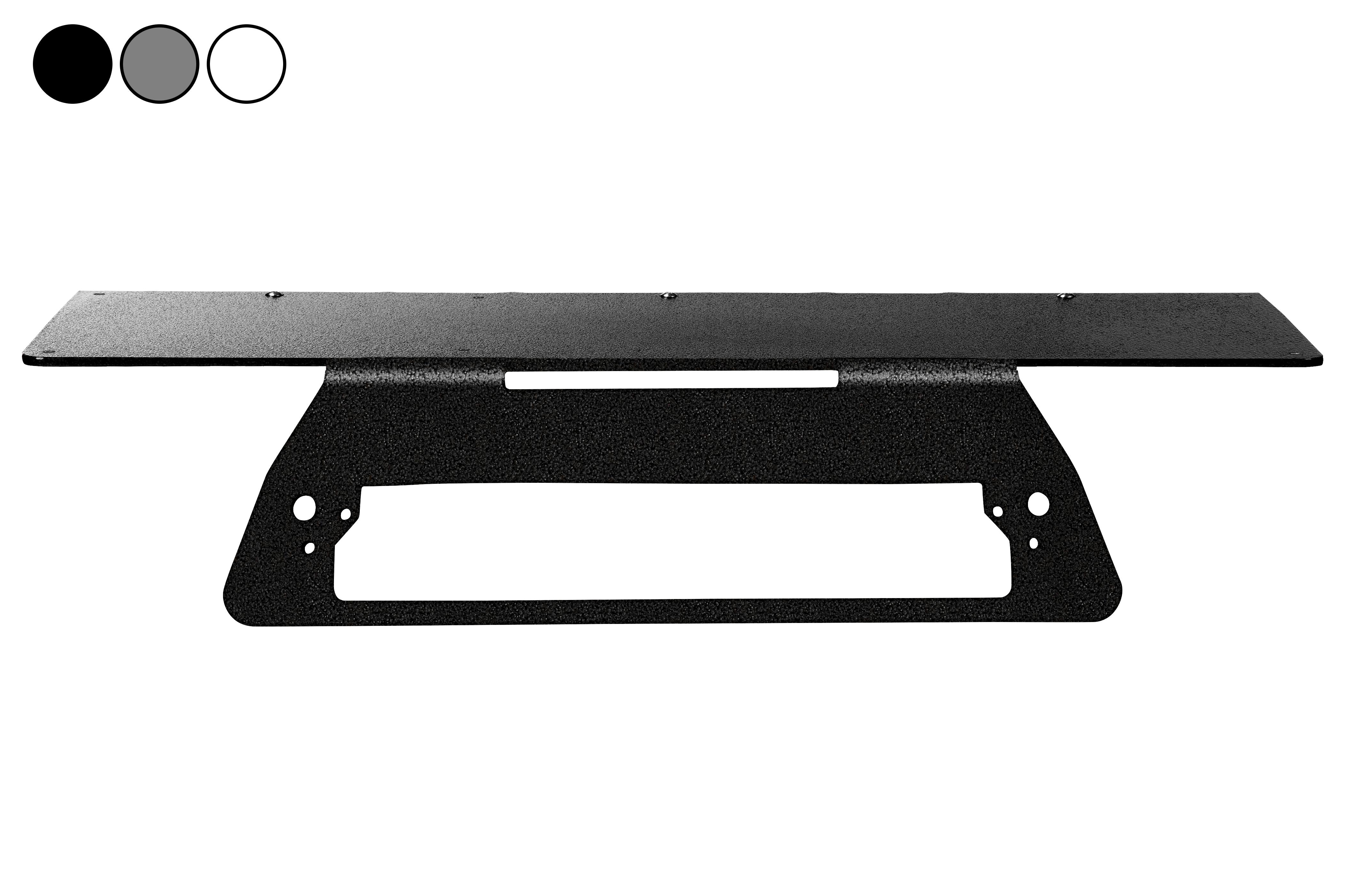 No Drill Mounting Plate, Fits 2019 Chevrolet Silverado 1500LD w/o Spoiler, Permanent