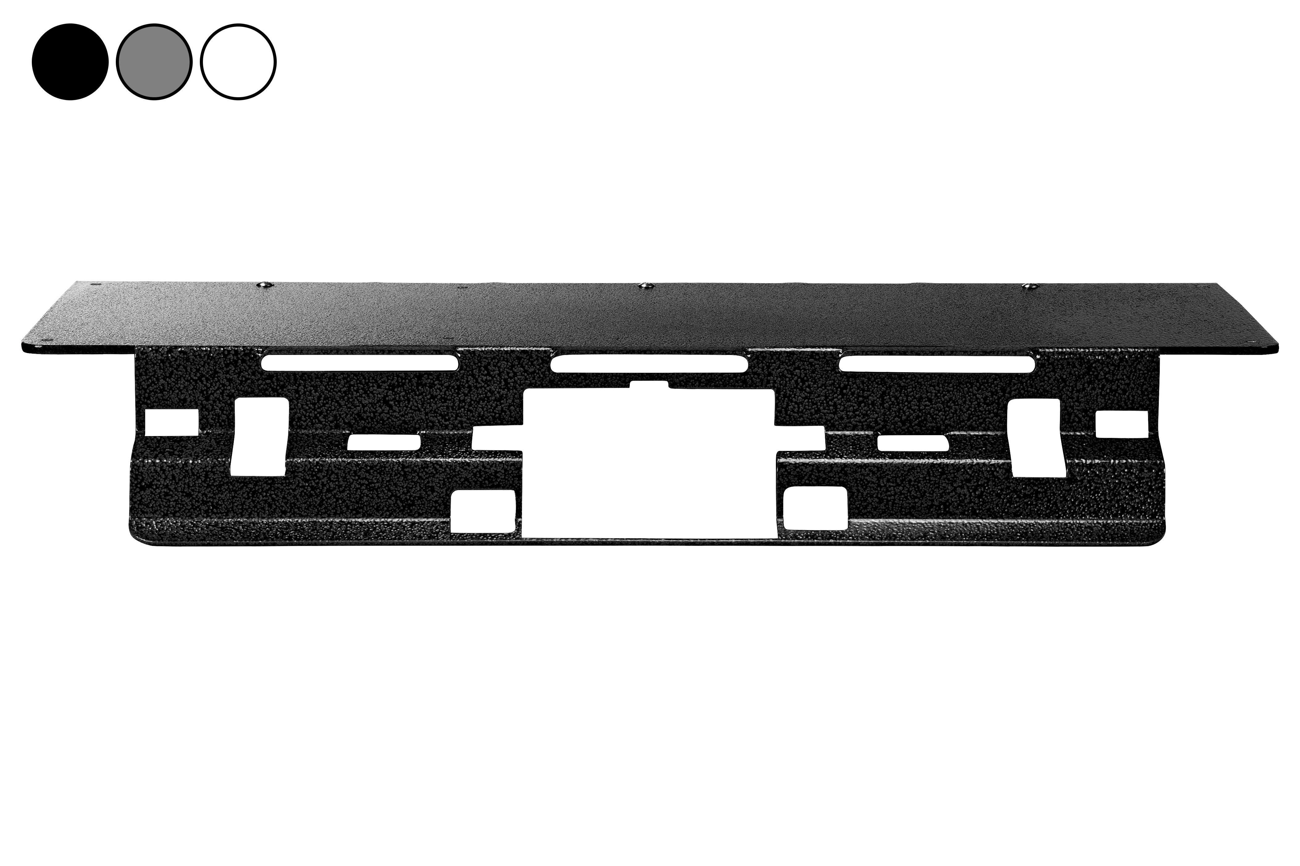 No Drill Mounting Plate, Fits 2020 Chevrolet Silverado 1500HD w/ Spoiler, Permanent