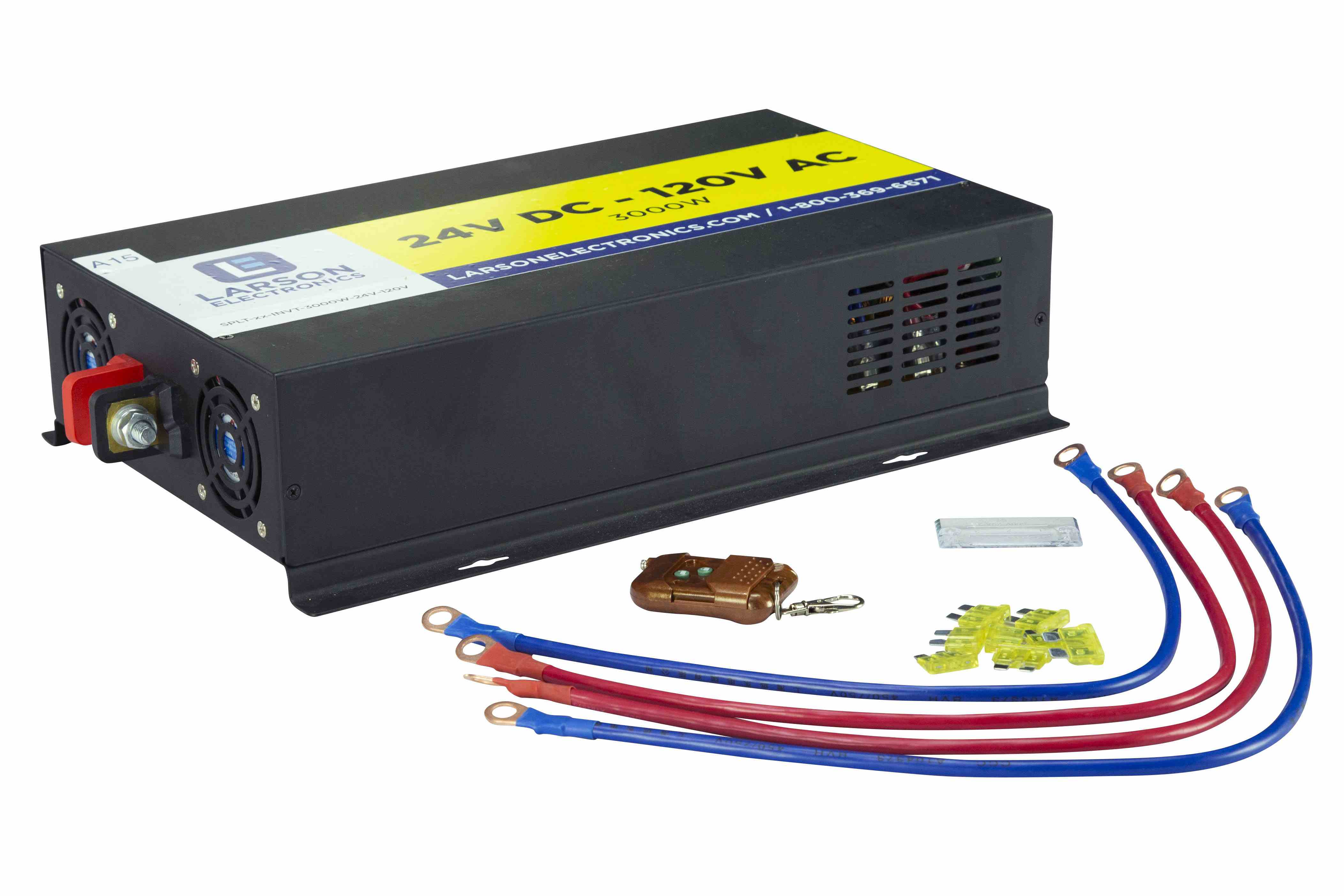 Replacement 3000 Watt 24V DC Input to 120V AC Output for Solar Generators